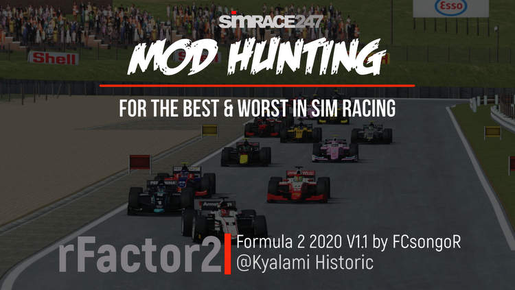 Mod Hunting: Free 2020 Formula 2 for rFactor 2