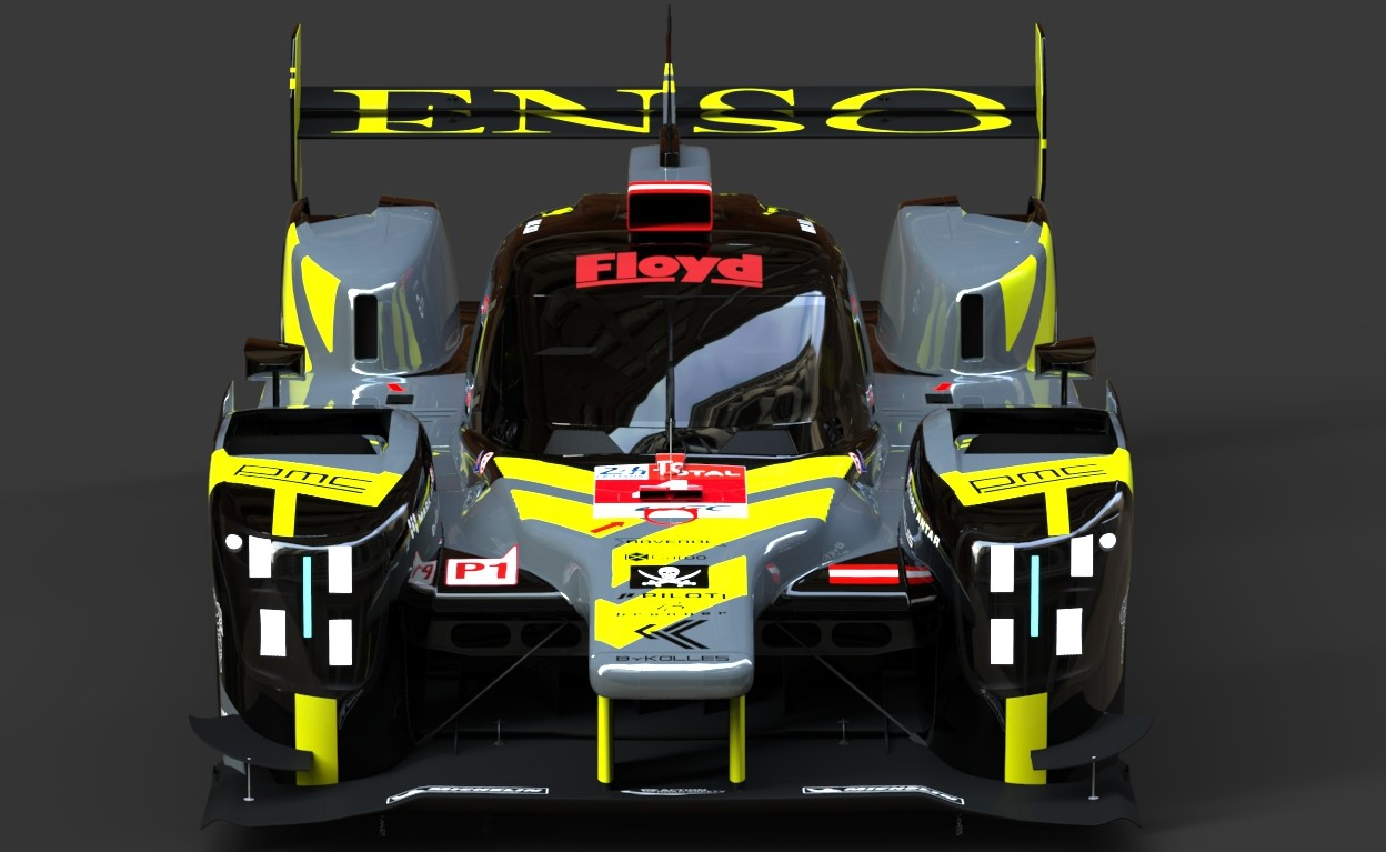 ByKolles LMP1 18-19 Car rFactor 2 W.I.P MOD – New renders and more info!
