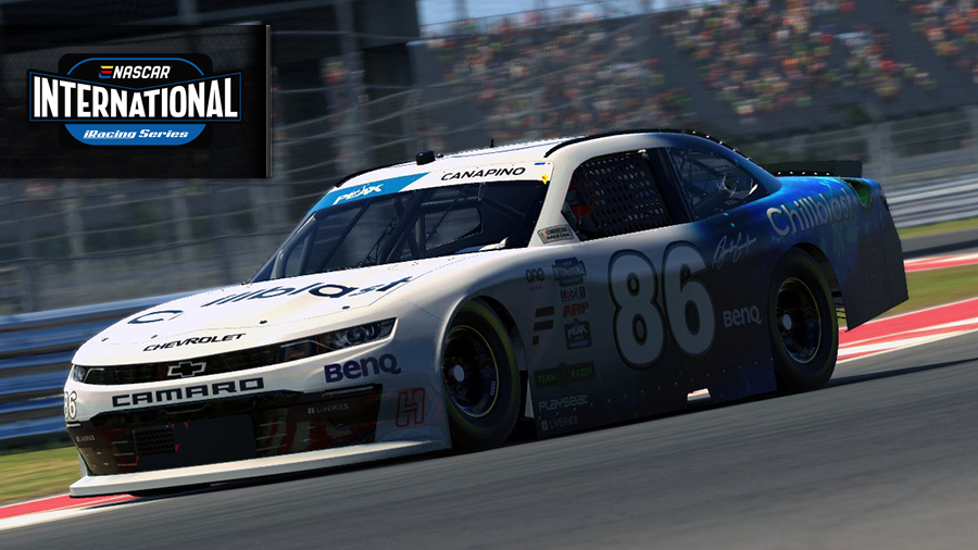 Racing eNASCAR COTA: Canapino takes his first victroy