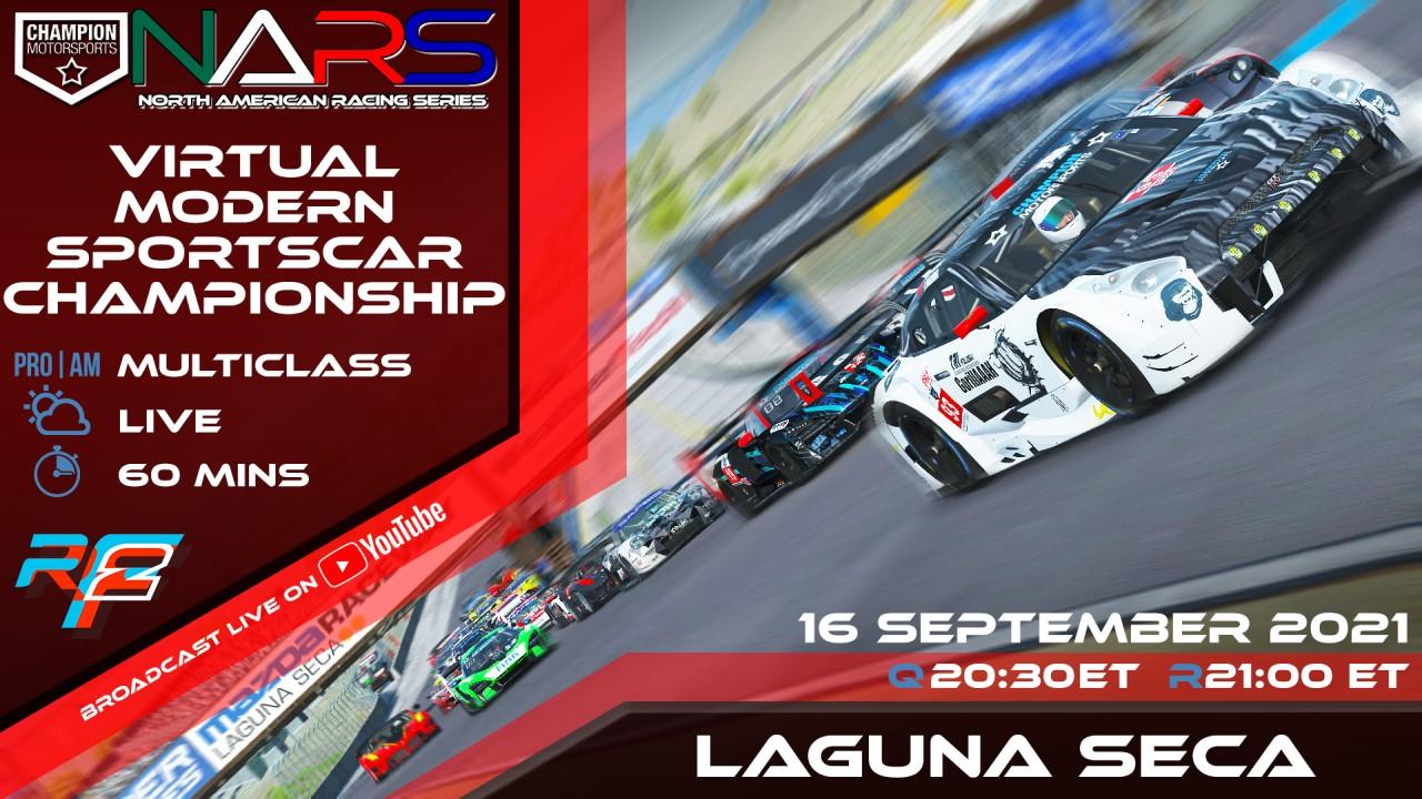 CMS rFactor 2 World Sportscar Championship Laguna Seca